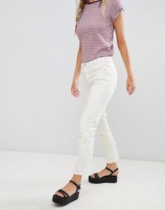 Узкие джинсы бойфренда Free People-Белый