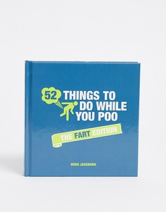 "Книга ""52 things to do while you poo\"" - fart edition-Мульти Books"