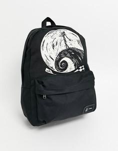 """Черный рюкзак с дизайном \""""Кошмар перед Рождеством\"""" Vans x Disney"""