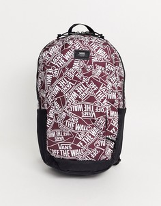 Бордовый рюкзак Vans Disorder-Красный