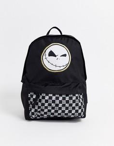 """Рюкзак с принтом по мотивам мультфильма \""""Кошмар перед Рождеством\"""" Vans x Disney-Мульти"""
