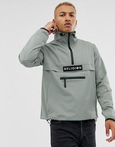 Куртка с короткой молнией Religion - Flux-Зеленый