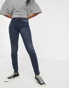 Зауженные джинсы Wrangler-Темно-синий