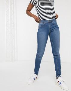 Зауженные джинсы Wrangler-Синий