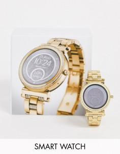 Золотистые наручные смарт-часы Michael Kors Access MKT5020 Sofie-Золотой