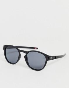 Черно-серые матовые солнцезащитные очки Oakley Latch-Черный