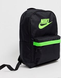 Черный рюкзак Nike Heritage