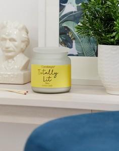 Свеча с ароматом мимозы Candlelight - lets get lit-Желтый