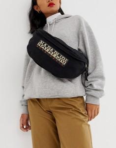 Черная сумка-кошелек на пояс Napapijri Haset-Черный