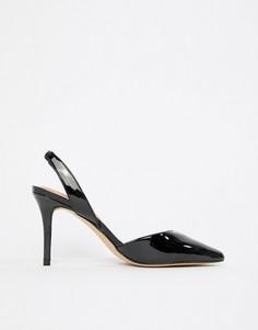 Туфли на высоком каблуке с острым носом Aldo-Черный