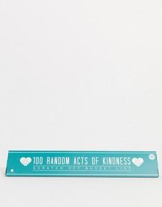 Плакат с 100 действиями Gift Republic-Мульти