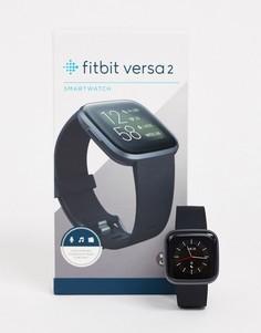Черные смарт-часы Fitbit Versa 2-Черный