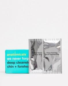Очищающие полоски для носа, лба и подбородка Anatomicals-Бесцветный