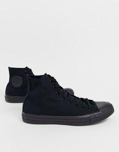 Черные высокие кеды Converse Chuck Taylor All Star M3310C-Черный