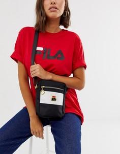 Сумка через плечо с логотипом Fila Cleo-Черный