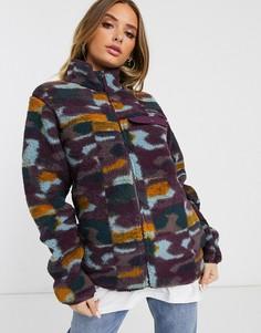 Фиолетовая лыжная куртка Columbia-Фиолетовый