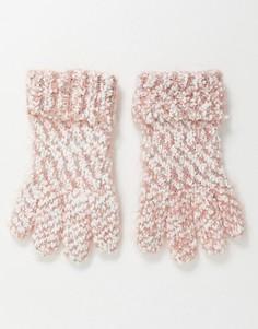 Меланжевые вязаные перчатки Boardmans-Мульти
