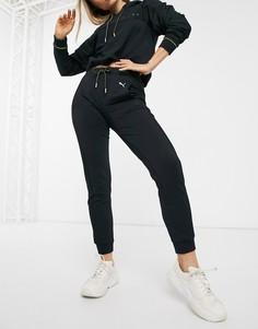 Спортивные штаны Puma-Черный