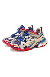 Комбинированные кроссовки Track Balenciaga