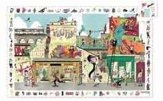 Пазл DJECO Стрит-арт (разноцветный)