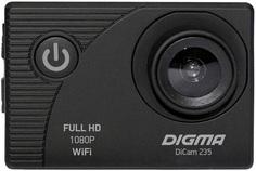 Экшн-камера Digma DiCam 235 (черный)