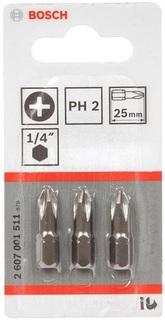 Набор бит Bosch Extra-Hart 2607001511 для шуруповертов