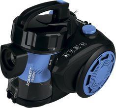 Пылесос Scarlett SC-VC80C93 (черный, синий)