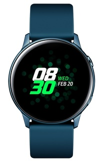 Смарт-часы Samsung Watch Active 39.5мм 1.1 Super AMOLED (зеленый)