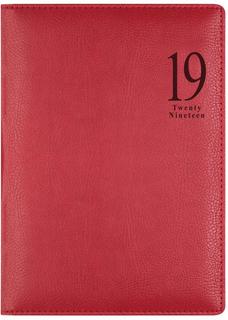Ежедневник LETTS MILANO A5 (красный)