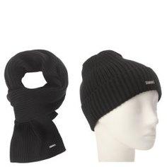 Шарф и шапка CALVIN KLEIN K50K505077 черный