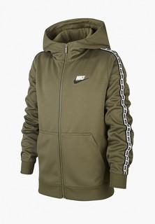 Толстовка Nike B NSW REPEAT FZ POLY HOOD