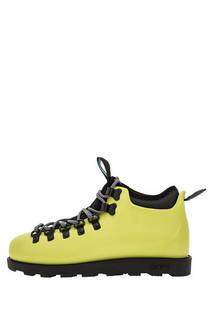 Ботинки 31106800-7570W acid green/jiffy black Native