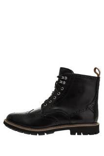 Ботинки 26146501 black wlined lea Clarks