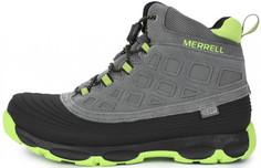 Ботинки утепленные для мальчиков Merrell M-Thrmoshvr2.0, размер 34.5