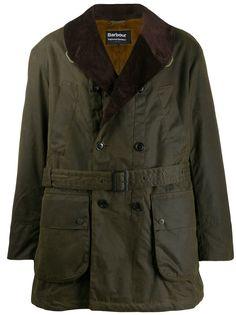 Barbour X Engineered Garments вощеная куртка Mackinaw