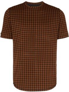 PRÉVU футболка Giovinco в ломаную клетку