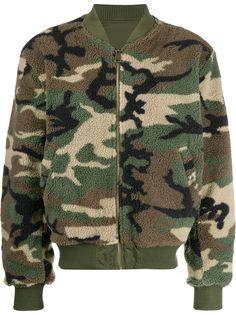Alpha Industries куртка с камуфляжным принтом