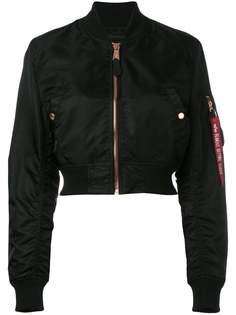 Alpha Industries укороченная куртка бомбер