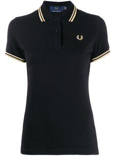 Fred Perry рубашка-поло с вышитым логотипом