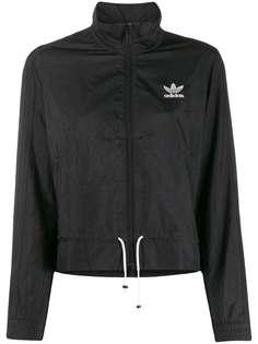 adidas спортивная куртка с оборками