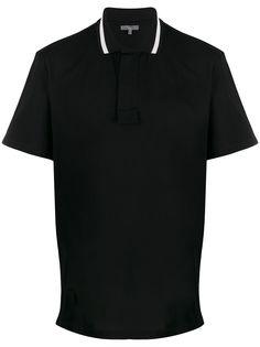 LANVIN рубашка-поло с потайной застежкой