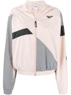 Reebok спортивная куртка в стиле колор-блок