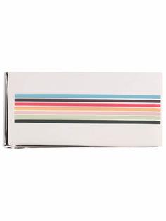 Paul Smith striped enamel tie clip
