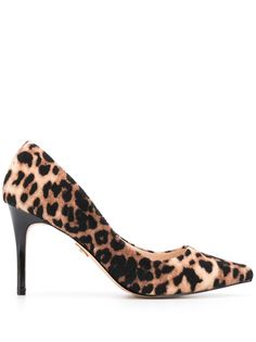 Buffalo туфли-лодочки Fanny с леопардовым принтом