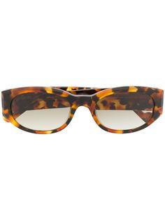 LIU JO солнцезащитные очки в овальной оправе