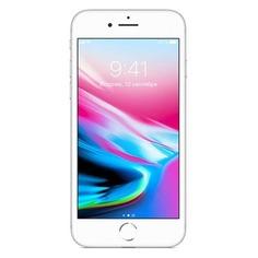 Смартфон APPLE iPhone 8 128Gb, MX172RU/A, серебристый