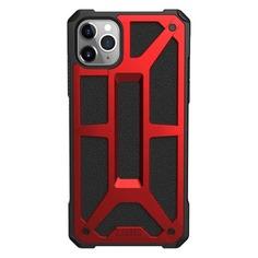 Чехол (клип-кейс) UAG Monarch, для Apple iPhone 11 Pro Max, красный/черный [111721119494]
