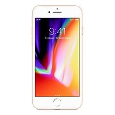 Смартфон APPLE iPhone 8 128Gb, MX182RU/A, золотистый