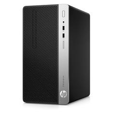 Компьютер HP ProDesk 400 G6, Intel Core i3 8100, DDR4 8ГБ, 1000ГБ, Intel UHD Graphics 630, Windows 10 Professional, черный [8pg70es]