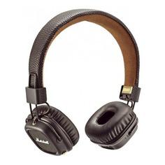 Наушники с микрофоном MARSHALL Major III, 3.5 мм/Bluetooth, накладные, коричневый [mrshlmajor3brwbt04092187]